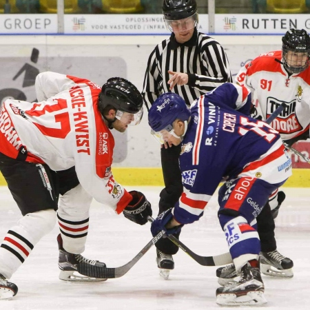 Face off met Michael Mackie Kwiste en Wessel Copier