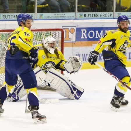 Arthur Lefrand in de goal